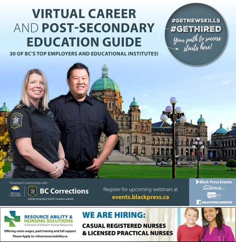 Victoria Virtual Career and Post-Secondary Education Guide 2021