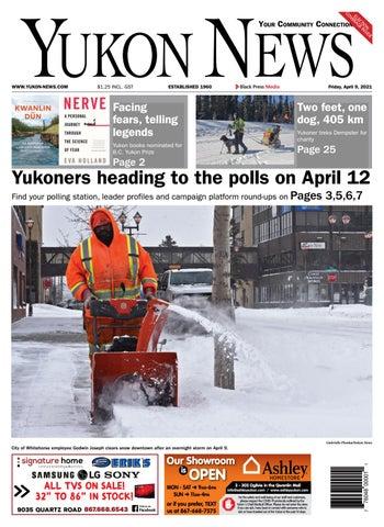 Yukon News, April 9, 2021