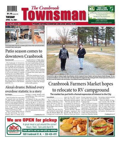 Cranbrook Daily Townsman, April 13, 2021