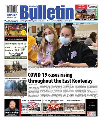 Kimberley Daily Bulletin, April 13, 2021