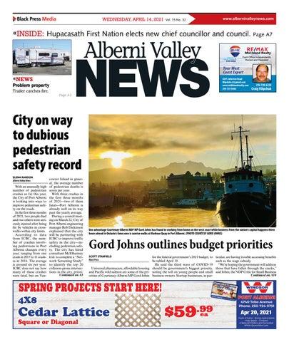 Alberni Valley News, April 14, 2021