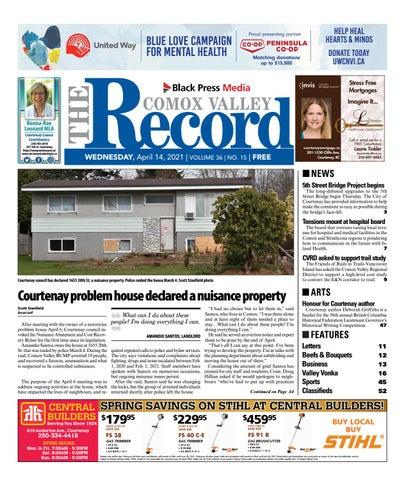Comox Valley Record, April 14, 2021