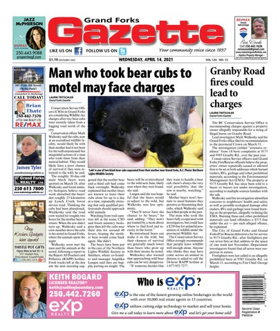 Grand Forks Gazette/West Kootenay Advertiser, April 14, 2021