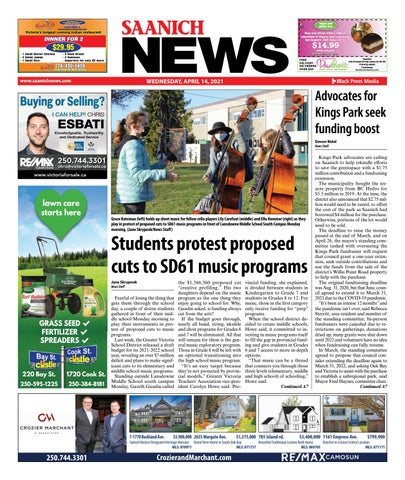 Saanich News, April 14, 2021