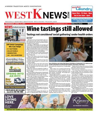West K News, April 14, 2021