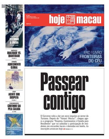 Hoje Macau 15 ABRIL 2021 #4748