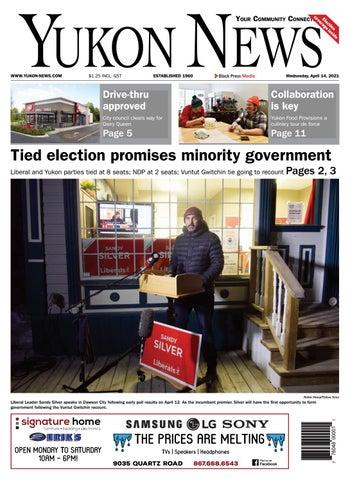 Yukon News, April 14, 2021