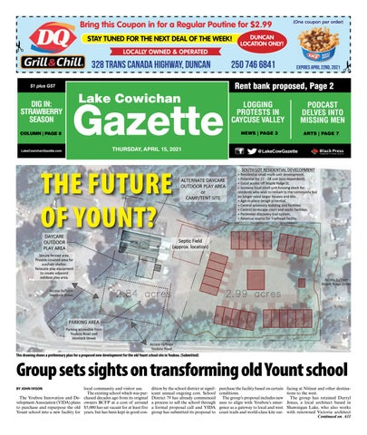Lake Cowichan Gazette, April 15, 2021