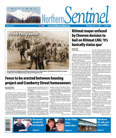 Kitimat Northern Sentinel/Northern Connector, April 15, 2021