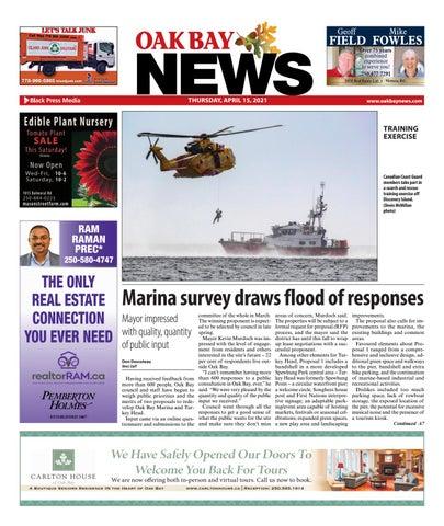 Oak Bay News, April 15, 2021