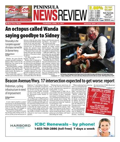 Peninsula News Review, April 15, 2021