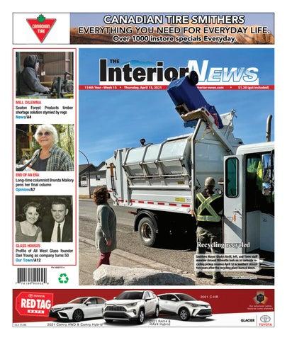 Smithers Interior News, April 15, 2021