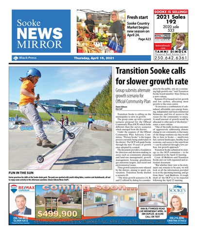 Sooke News Mirror, April 15, 2021