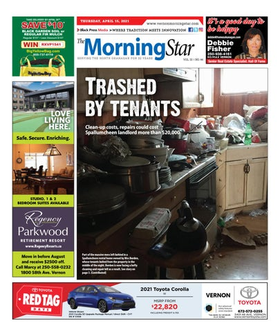 Vernon Morning Star, April 15, 2021