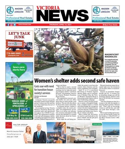 Victoria News, April 15, 2021