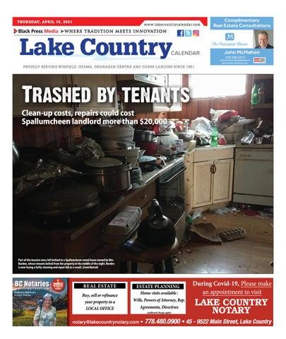 Lake Country Calendar, April 15, 2021