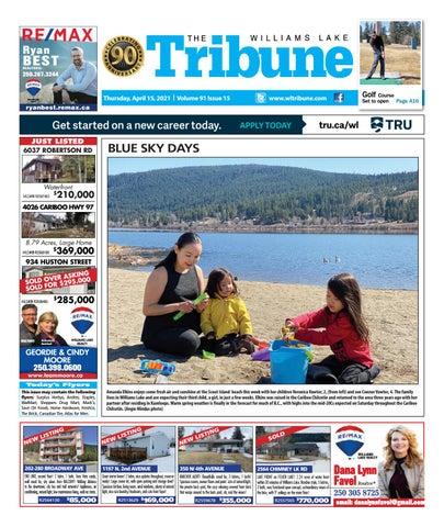 Williams Lake Tribune, April 15, 2021