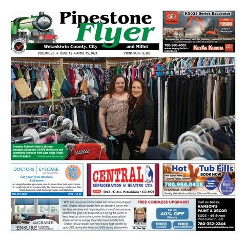 Wetaskiwin/Millet Pipestone Flyer, April 15, 2021