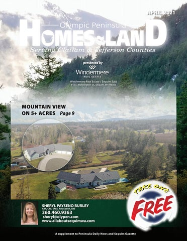 Homes-Land Olympic Peninsula April 2021