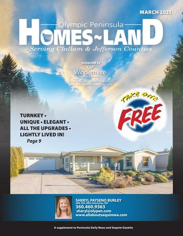 Homes-Land Olympic Peninsula March 2021