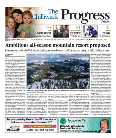 Chilliwack Progress, April 16, 2021