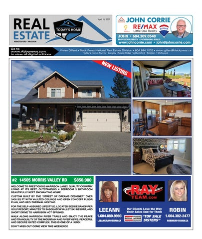 April 16, 2021 Real Estate Weekly - Abbotsford