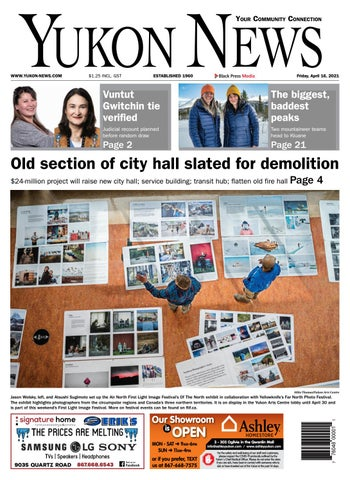 Yukon News, April 16, 2021