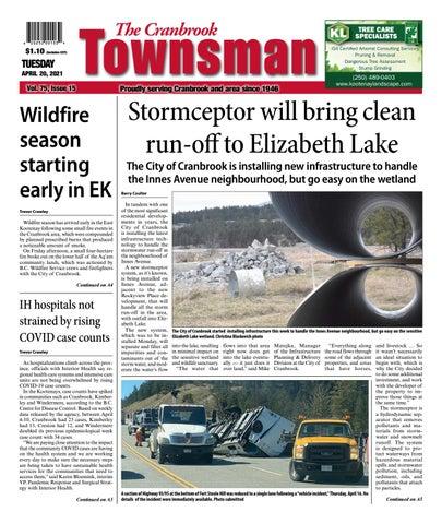 Cranbrook Daily Townsman, April 20, 2021