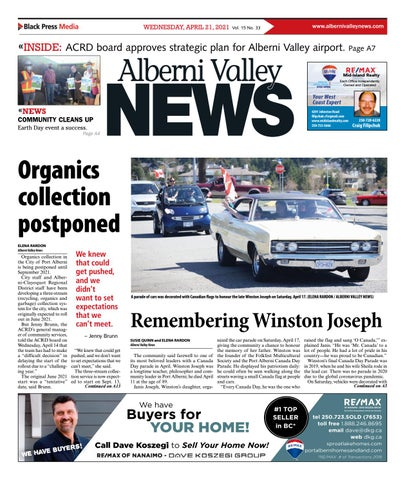Alberni Valley News, April 21, 2021