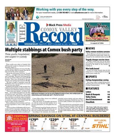 Comox Valley Record, April 21, 2021