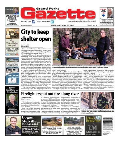 Grand Forks Gazette/West Kootenay Advertiser, April 21, 2021