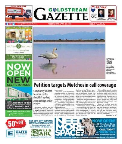 Goldstream News Gazette, April 21, 2021