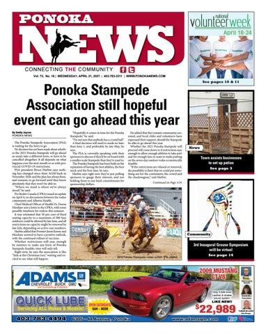 Ponoka News, April 21, 2021