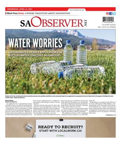 Salmon Arm Observer, April 21, 2021
