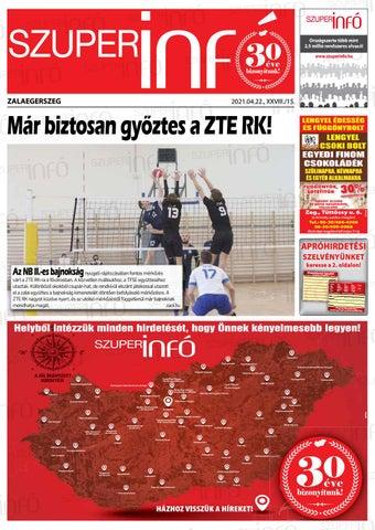 Zalaegerszeg 2021.04.22.