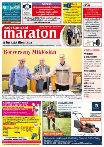Nagykanizsai Maraton - 2021. 04. 23.