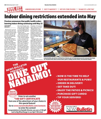 Dine Out Nanaimo - April 21, 2021