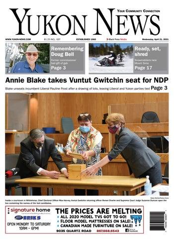 Yukon News, April 21, 2021