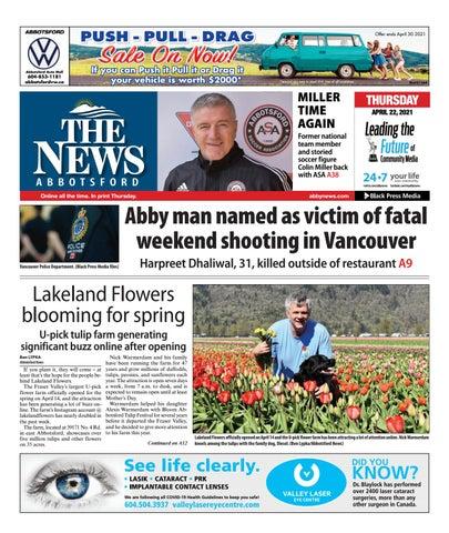Abbotsford News, April 22, 2021