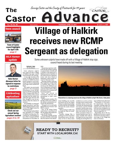Castor Advance, April 22, 2021