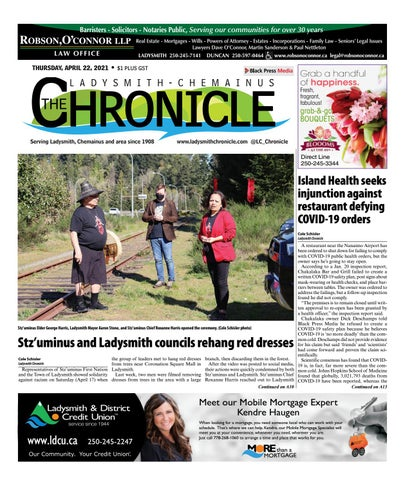 Ladysmith Chronicle, April 22, 2021
