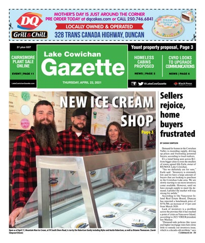 Lake Cowichan Gazette, April 22, 2021