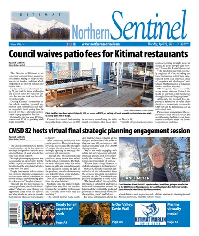 Kitimat Northern Sentinel/Northern Connector, April 22, 2021