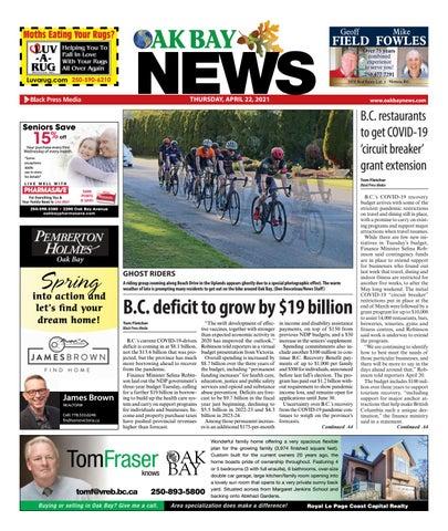 Oak Bay News, April 22, 2021