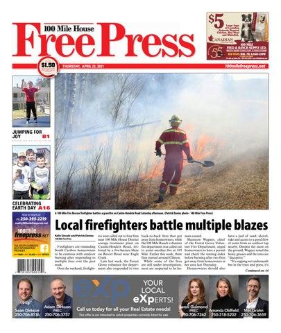 100 Mile House Free Press, April 22, 2021