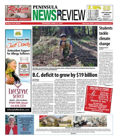 Peninsula News Review, April 22, 2021