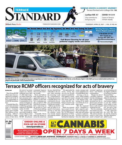 Terrace Standard, April 22, 2021