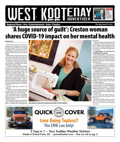 Grand Forks Gazette/West Kootenay Advertiser, April 22, 2021