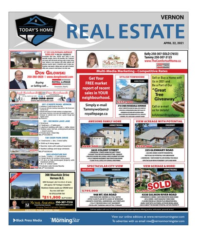 April 22, 2021 Vernon Morning Star