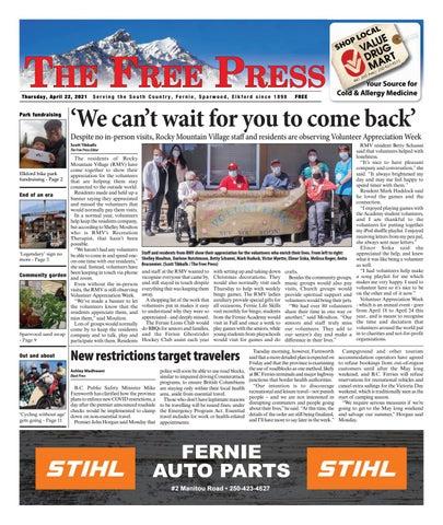 The Free Press, April 22, 2021